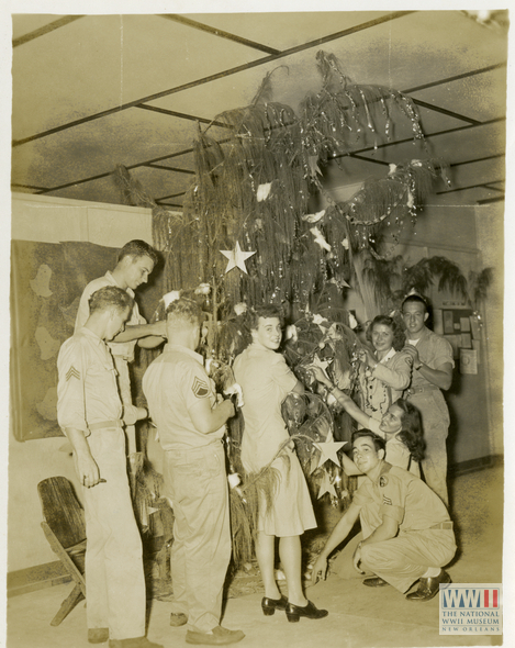 Christmas Decorations During Ww2 : Home front friday the spirit of season national