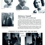 African American advisory council, from the pages of Topeka High School yearbook, 1944. ww2yearbooks.org.