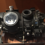 The Norden bombsight on display in The Road to Berlin.