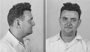 David Greenglass in his mugshot.