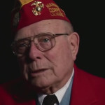 "Hershel ""Woody"" Williams, Medal of Honor recipient, Iwo Jima."