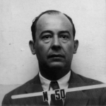 von Neumann's Id badge from Los Alamos