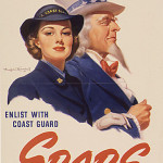 """Make a Date with Uncle Sam!""SPARS (Coast Guard) recruitment poster,  Courtesy of The National Archives and Records Administration."