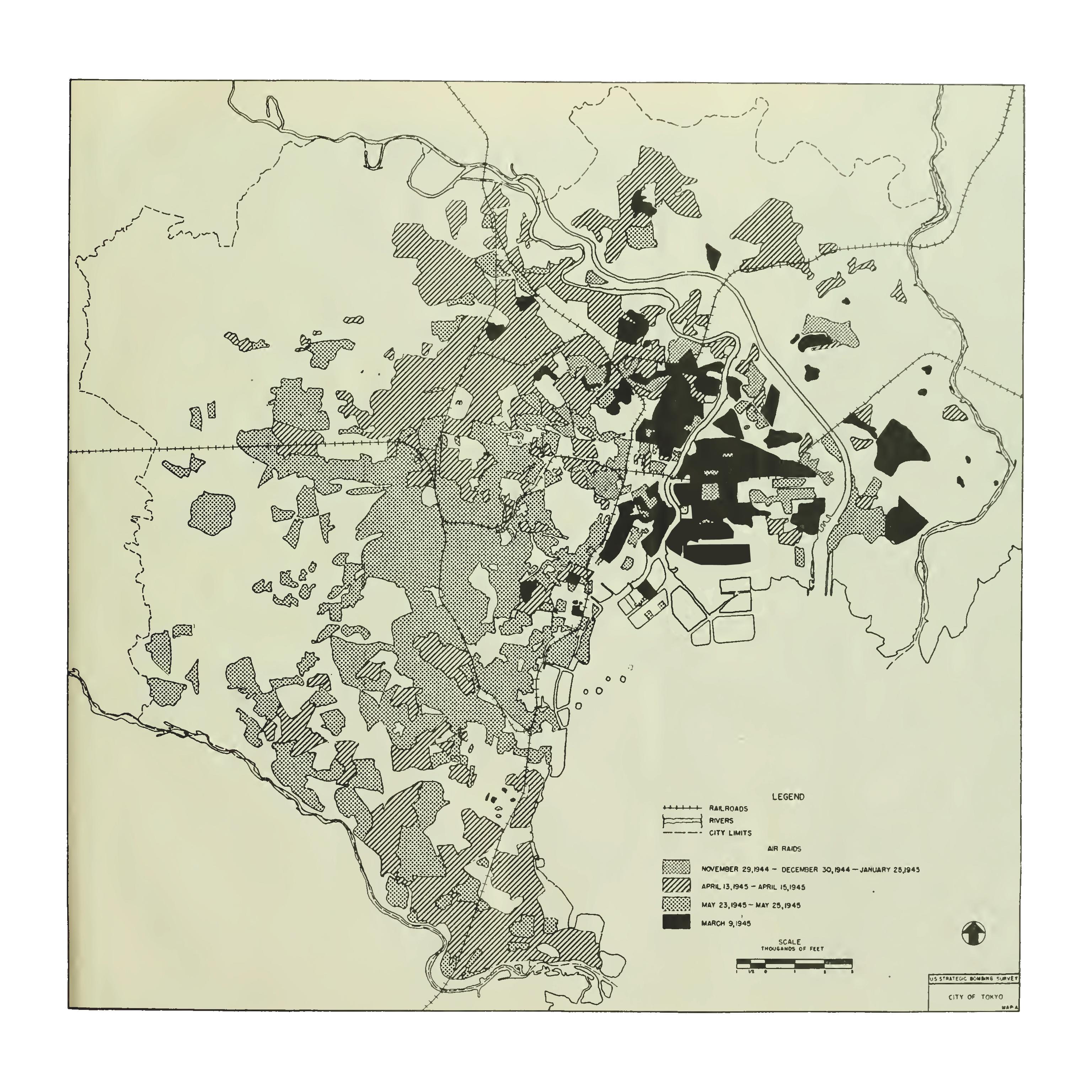 Doolittle Raid Map on