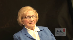 Charlotte Weiss is a Holocaust survivor of Auschwitz. Her oral history can be found online at The Digital Collections of The National WWII Museum at ww2online.org.