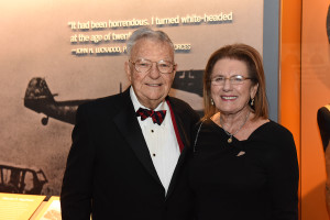 Madlyn and Paul Hilliard at Road to Berlin Grand Opening