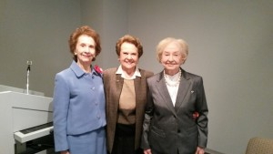 Jeanne Bruno, Mryl Cambias and Alice Manson