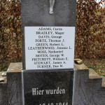 Memorial in Wereth. Photo Courtesy of Alan Raphael.