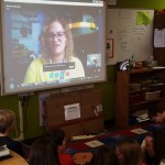A Mystery Skype program with students in Wisconsin.