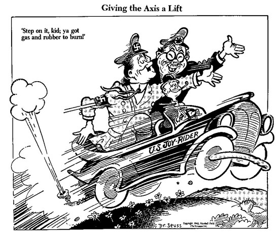 Dr. Seuss Cartoon from 1942.
