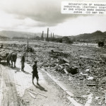 Nagasaki after the bombing.