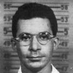 Louis Slotin's Los Alamos ID. He normally wore jeans and a cowboy hat to the lab.