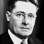 Howard Florey, Australian born scientist who studied at Oxford and Cambridge, led a pathology research team studying penicillin, and came to the US in 1941 to develop it as a drug. He shared the 1945 Nobel Prize in Medicine.