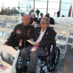 Kuroki and friend Joe Duran at The National WWII Museum