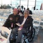 Kuroki and friend Joe Duran at The National WWII Museum