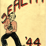 The cover of the 1944 issue of Sealth, the yearbook of Seattle's Broadway High School. Collection of The National WWII Museum.