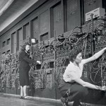 Computer operators working on the ENIAC at UPenn