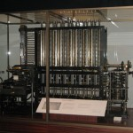 Babbage's Difference Engine, or Analytical Machine.