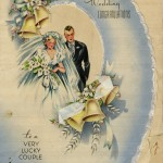 Wedding card.