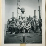 The first crew of PT-305. Gift of Edric Costain, from the collection of The National WWII Museum.