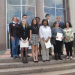 Winning Students from Shreveport Regional Contest