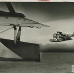 Two Coast Guard planes patrolling the coast of Greenland. The Coast Guard did much of the surveying and securing of the giant island. From the collection of The National WWII Museum.