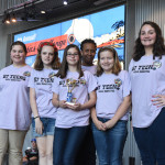 The B7 Teens of Girl Scouts Louisiana East had excellent results in project and competition, and worked hard to keep everyone on the team involved.