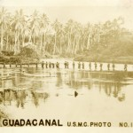 American servicemembers on Guadalcanal. (From the Collection of The National WWII Museum, 2002.069.144.)