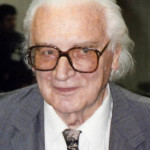 Konrad Zuse, photograhed in 1992.