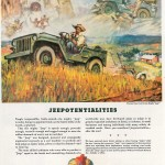 After the war Willys marketed the Jeep for farmers and suburbanites.