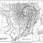 This map shows the position of the weather elements mid-day on November 11, 1940.