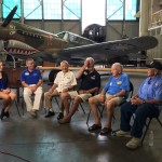 Interviewing witnesses and survivors at the Pacific Aviation Museum, Pearl Harbor.