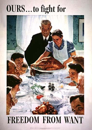 Created by Norman Rockwell. via National Archives.