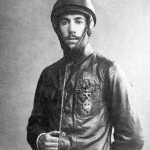 This is Igor Sikorsky in 1914 when he was making aircraft for the Russian forces to use in WWI