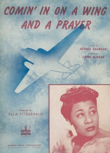 Ella Fitzgerald performance program in WWII