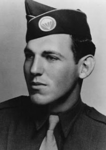 Edward Tipper, 'Easy Company' D-Day survivor, and Museum friend.