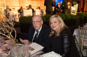 Edward Tipper and his wife, Rosie, attend the Road to Berlin grand opening in December 2014.
