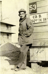 Lester Tenney during World War II.