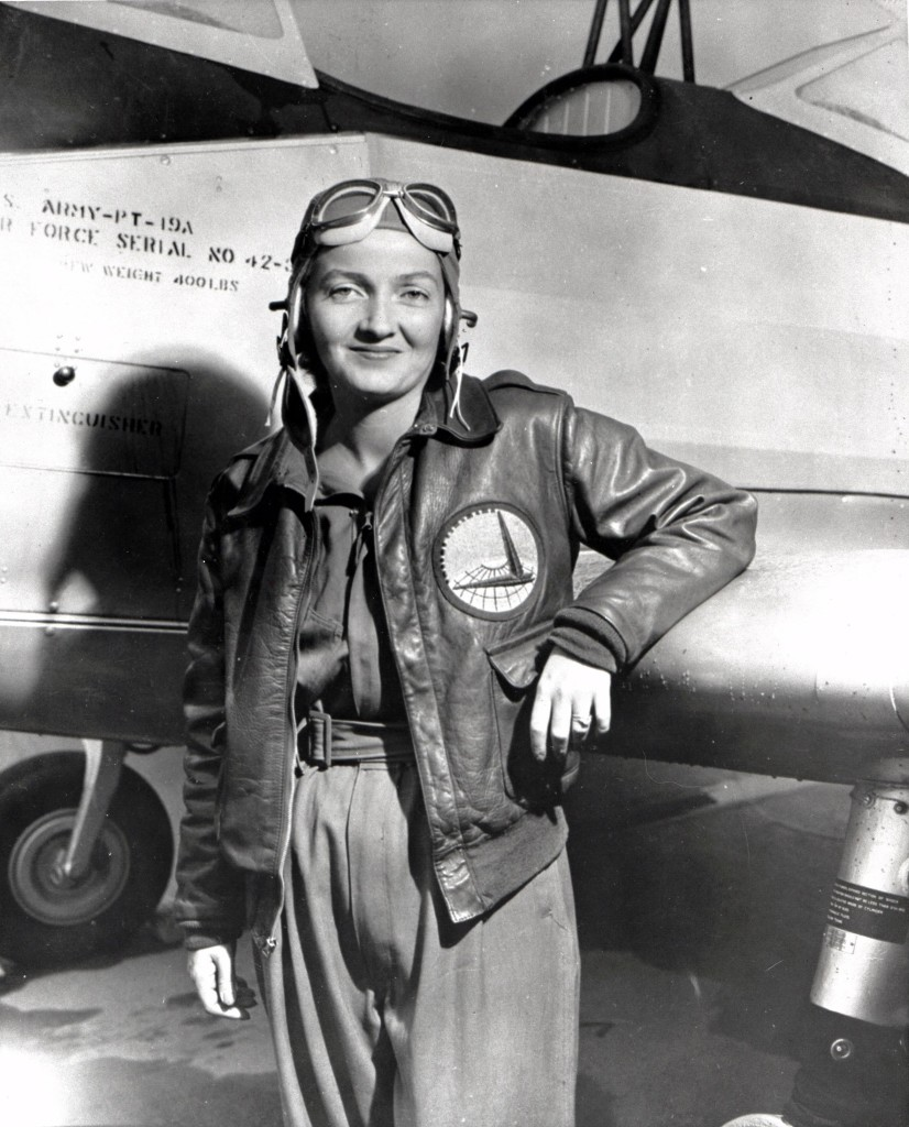 Nancy Harkness Love. Photo courtesy of World War Two Database.