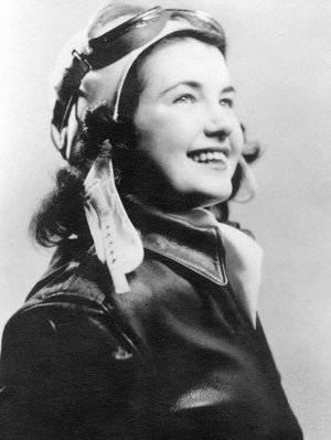 Margaret Phelan Taylor, WASP pilot. Photo courtesy of npr.org.
