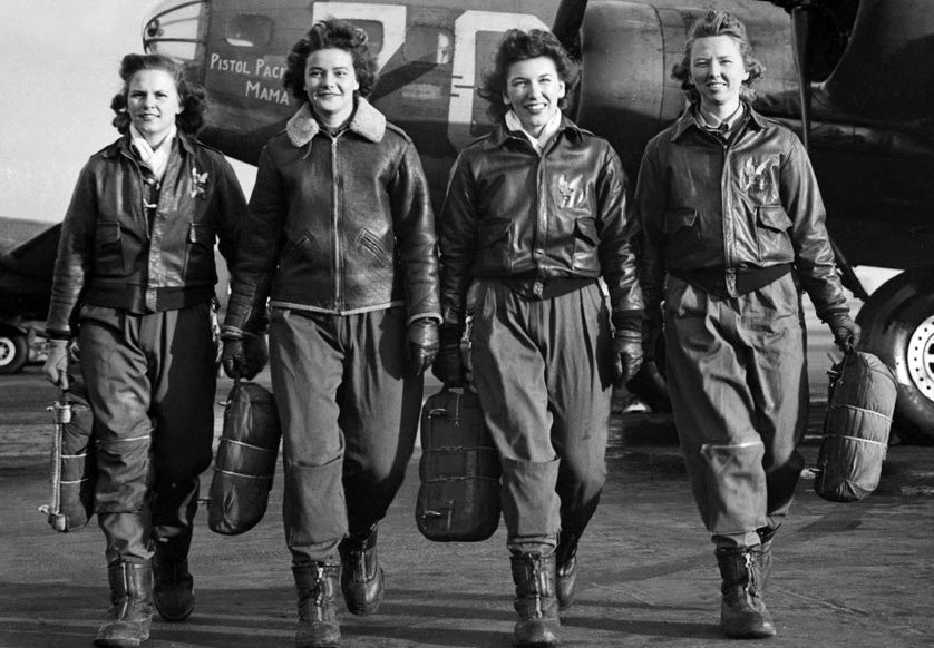 WASP pilots. Photo courtesy of National Public Radio website.