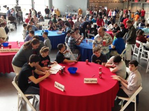 Teams from 23 high schools competed in the Museum's 13th annual WWII Quiz Bowl on Saturday, March 11.