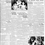 Front page of the Times Picayune, reporting the May 19th of 1942 attack.