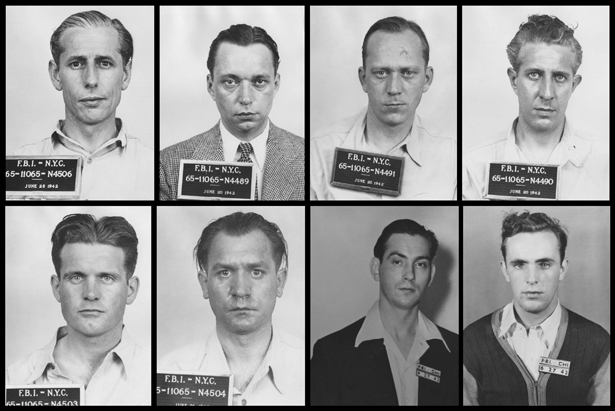 Image result for six nazi saboteurs in the u.s. executed during ww2